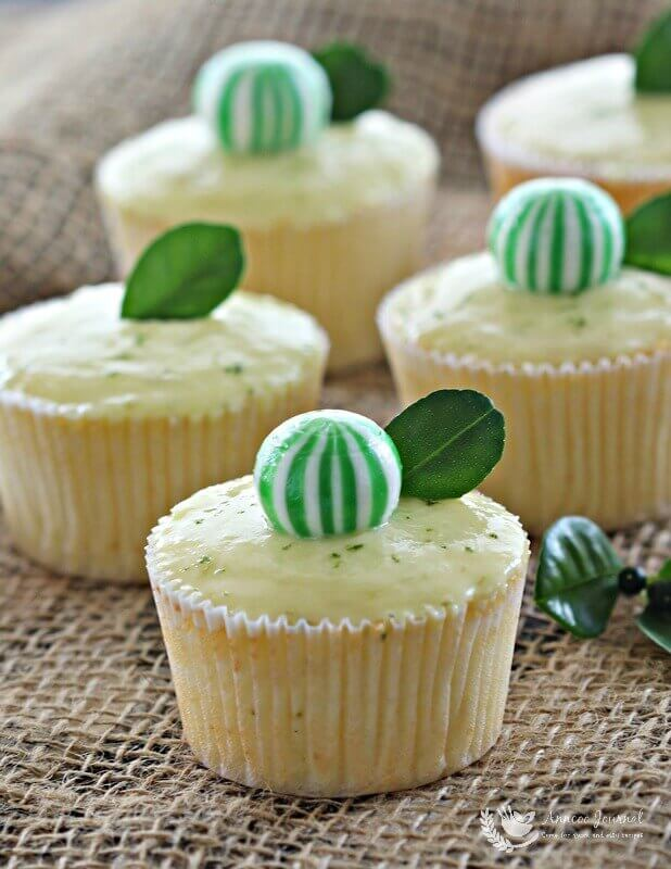 lime cupcakes 105