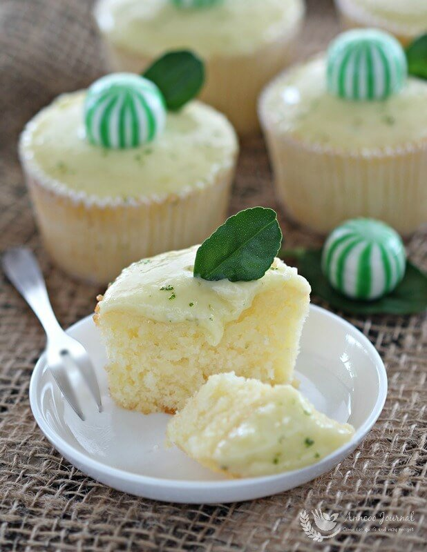 lime cupcakes 156