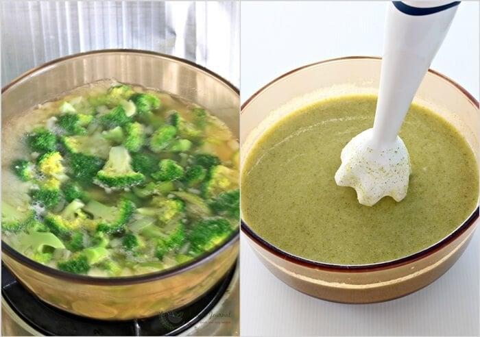 broccoli soup 1d