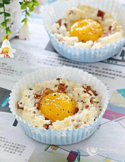 Egg in a Cloud 云朵蛋