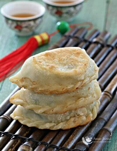 Chinese Chive Pockets 韭菜盒子