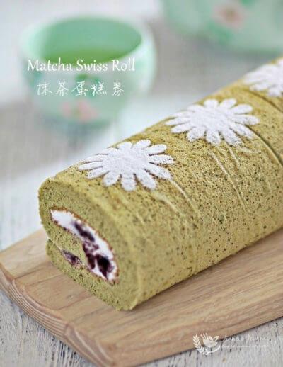 Matcha Swiss Roll 抹茶蛋糕券