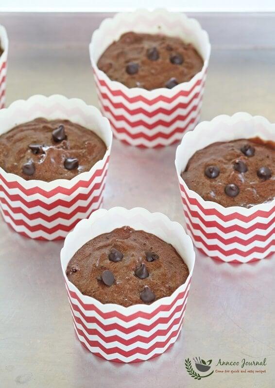 soft chocolate muffins 001