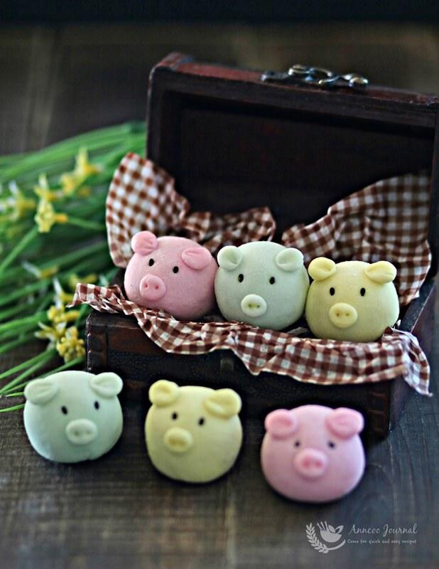 handmade snowskin piggies 003