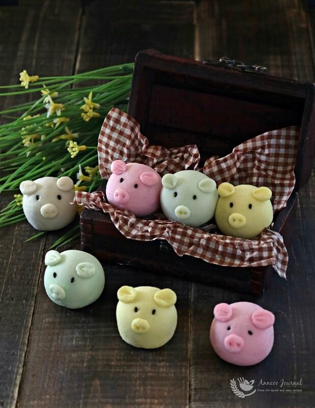 handmade snowskin piggies 004