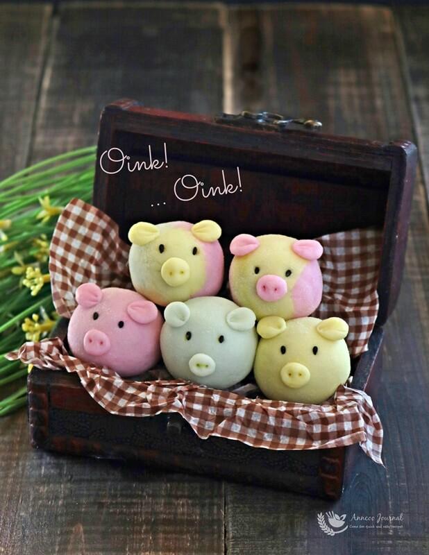 handmade snowskin piggies 005a