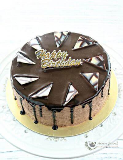 Chocolate Mousse Cake 巧克力慕斯蛋糕