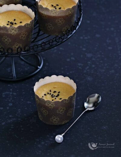Sweet Potato Cheese Cupcakes 甜薯乳酪杯子蛋糕