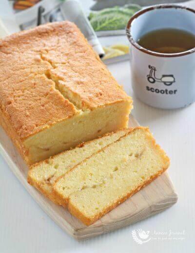 Yuzu Pound Cake 柚子茶榜蛋糕