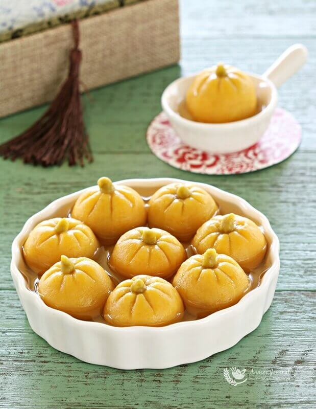Pumpkin Tang Yuan