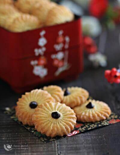 Orange Cookies 香橙曲奇