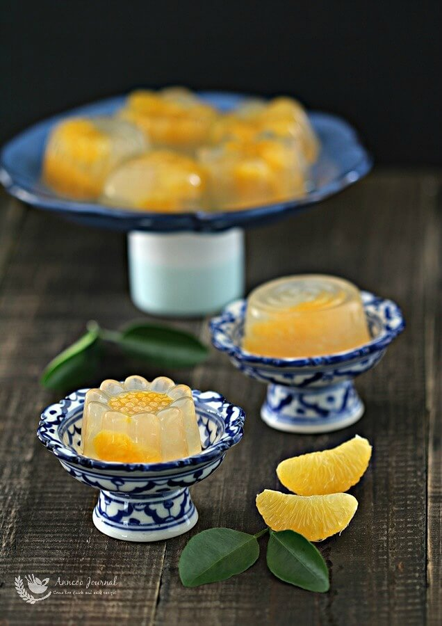Orange Yuzu Jelly