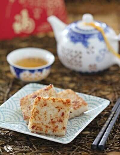 Steamed Radish Cake 蒸萝卜糕