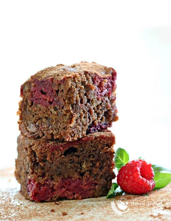 chocolate raspberry brownies