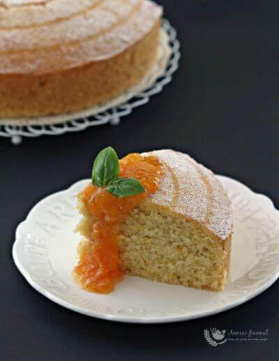 Orange Marmalade Cake 橘子果酱蛋糕