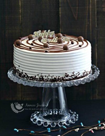 Vanilla Ice Cream Cake 香草冰淇淋蛋糕