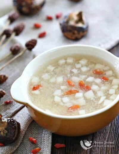 Water Chestnut Sweet Soup 马蹄(荸荠)羹