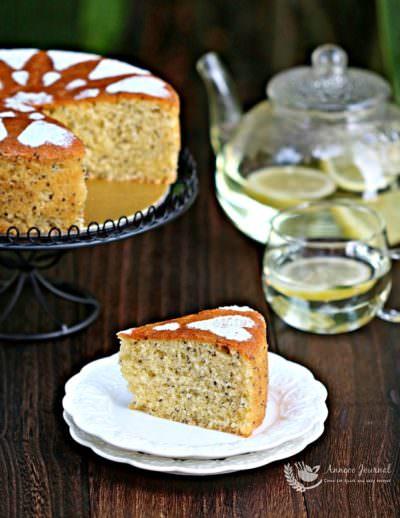 Lemon and Coconut Cake 柠檬椰丝蛋糕