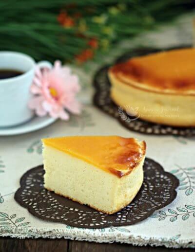 Honey Baked Cheesecake 岩烧蜂蜜芝士蛋糕