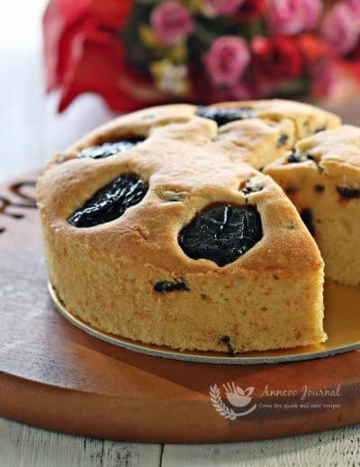Prune Butter Cake 西梅牛油蛋糕