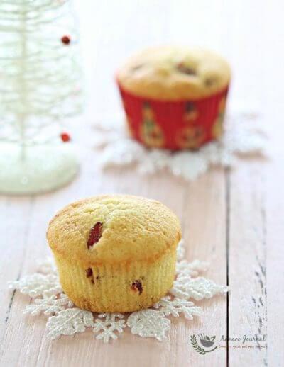 Cranberry Butter Cupcakes 蔓越莓牛油杯子蛋糕