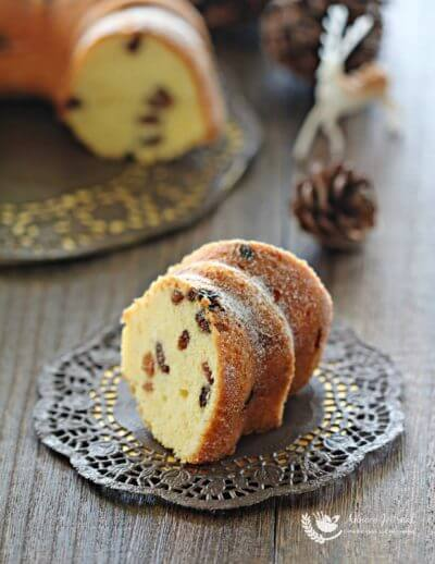 Lemon Yogurt Bundt Cake 柠檬优格蛋糕