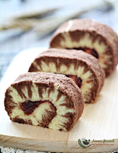 Hurricane Swiss Roll Cake 飓风蛋糕卷