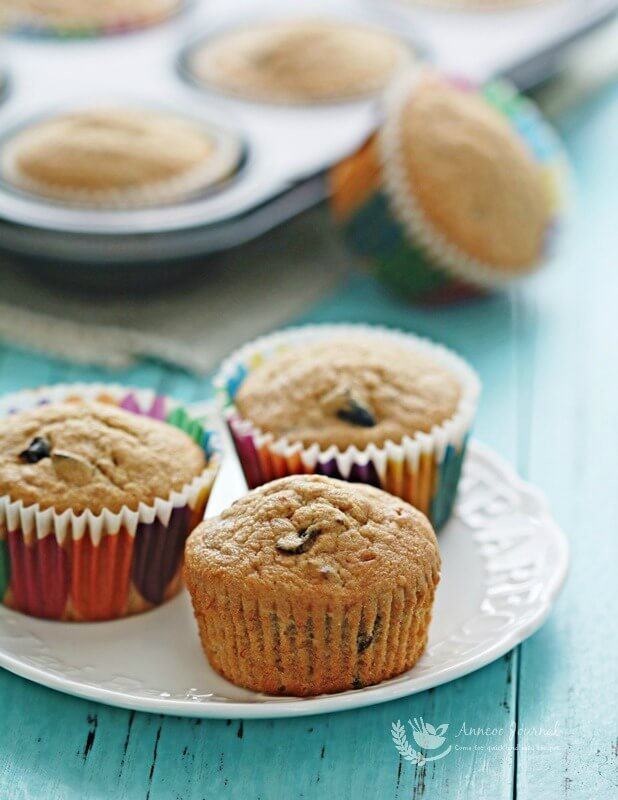 banana and prune muffins