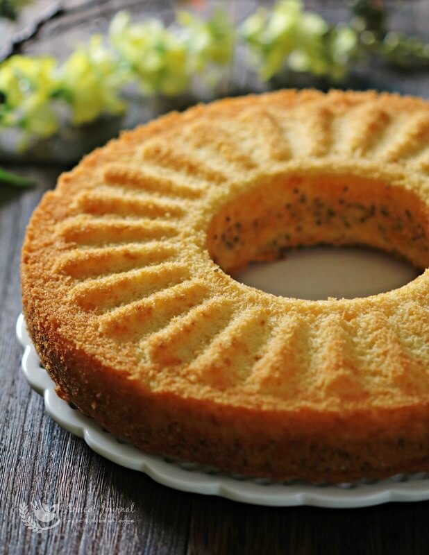 chi'a seed orange butter cake