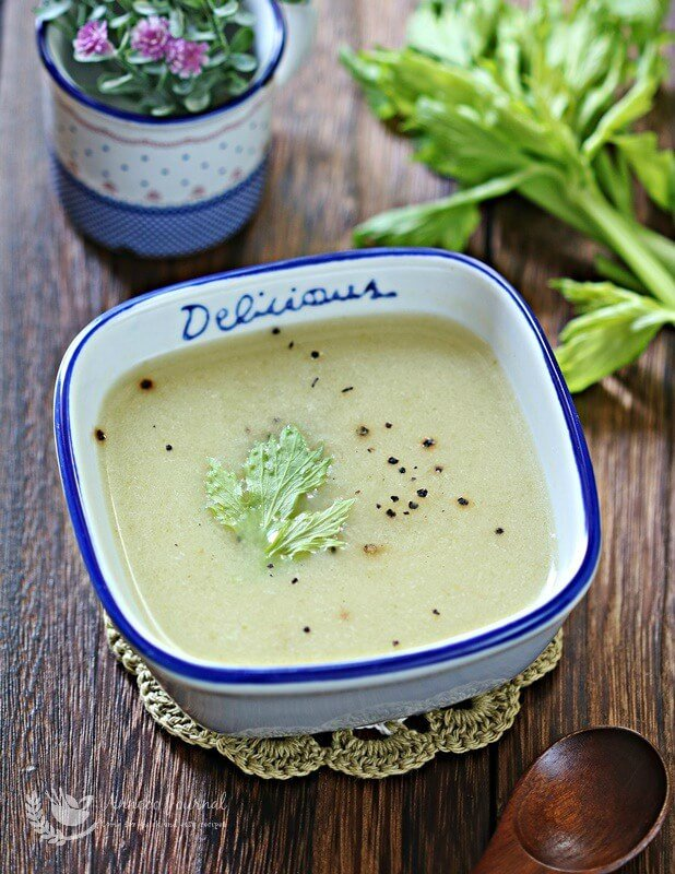 delicious celery soup