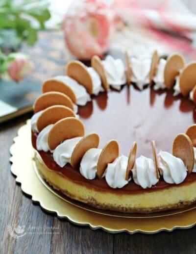 Haw Flakes Cheesecake 山楂芝士蛋糕
