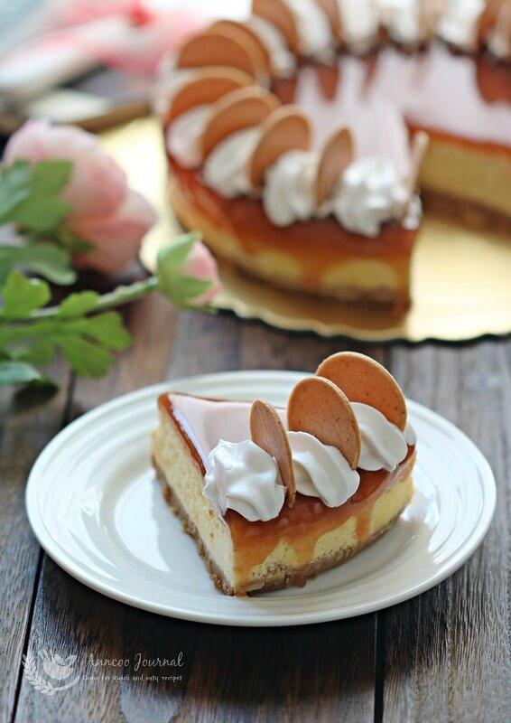 haw flakes cheesecake