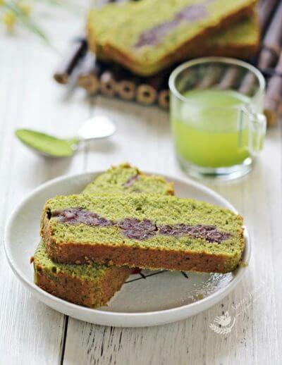 Matcha Pound Cake 抹茶磅蛋糕