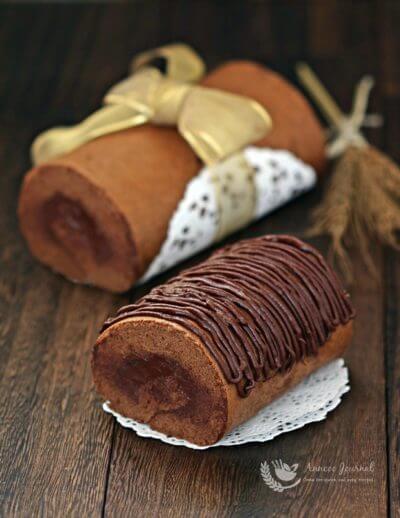 Chocolate Swiss Roll 巧克力蛋糕卷