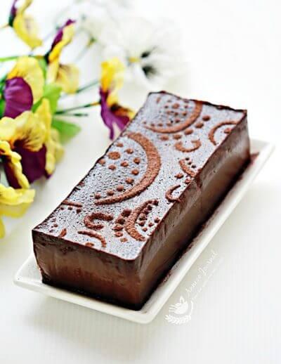 Chocolate Terrine 巧克力酱糜蛋糕