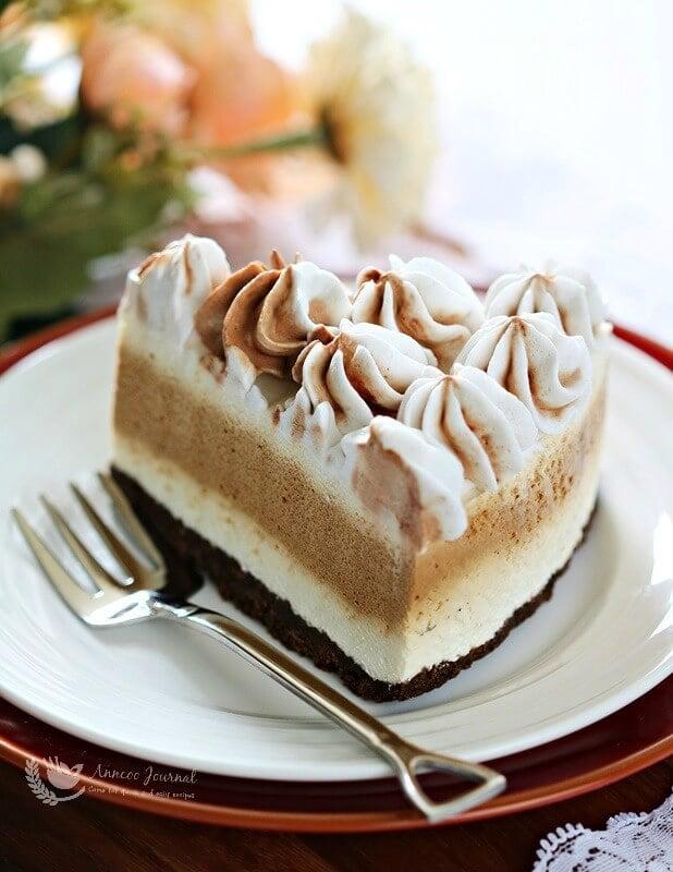 no bake coffee cheesecake