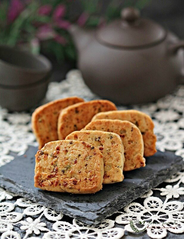 meat floss biscuits