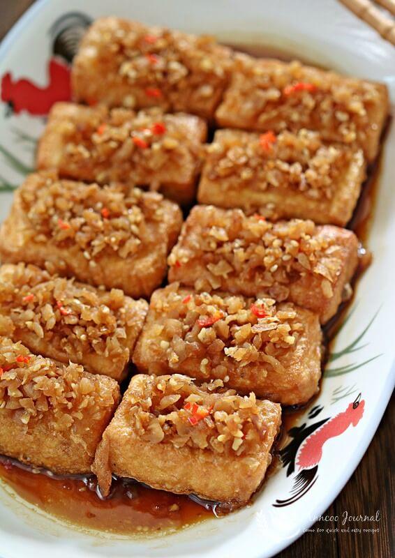 chai poh tofu