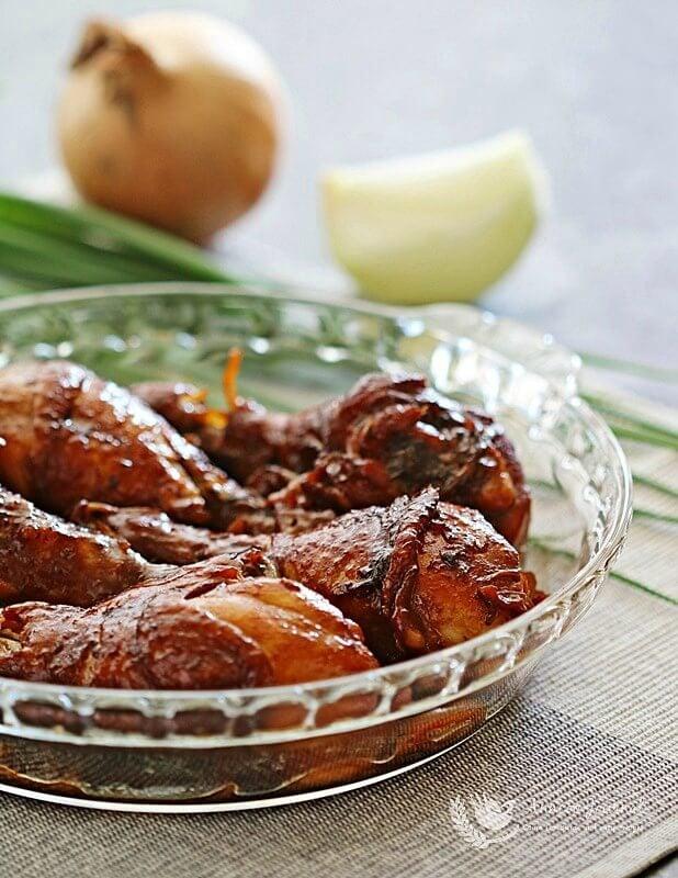 braised chicken in rice cooker