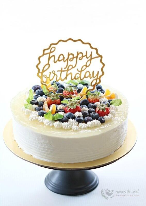 yuzu mousse cake