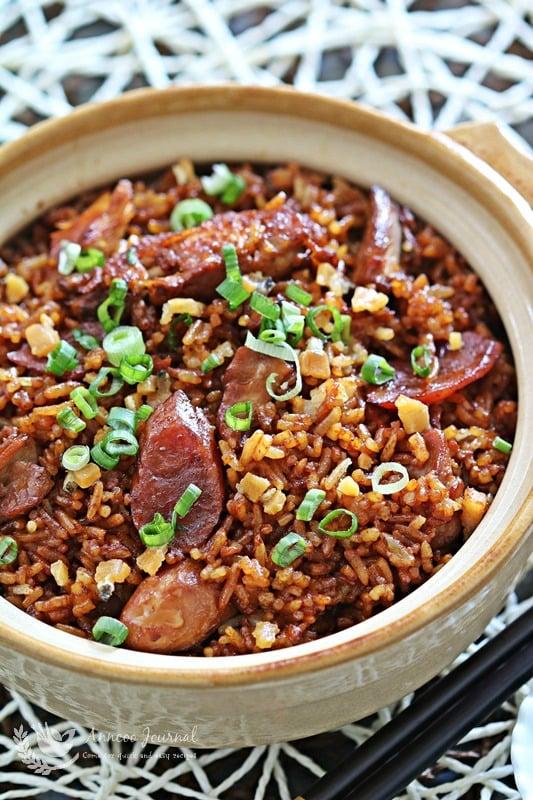 claypot chicken in rice cooker
