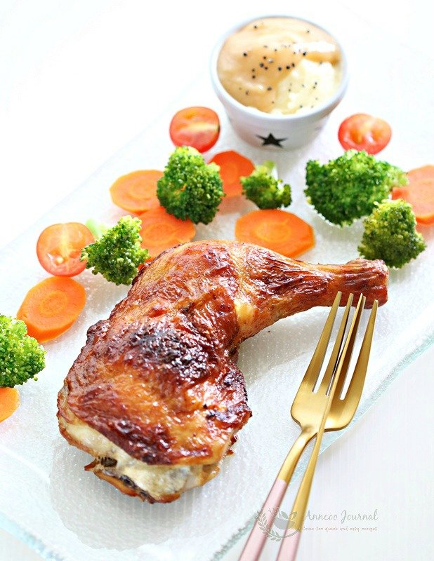 air fried chicken legsw