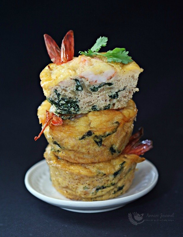 prawn and tuna cake cakes
