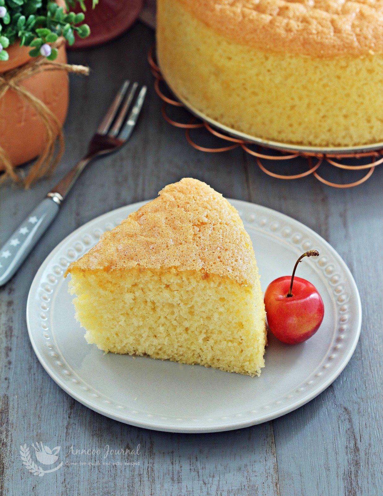 whisked sponge cake