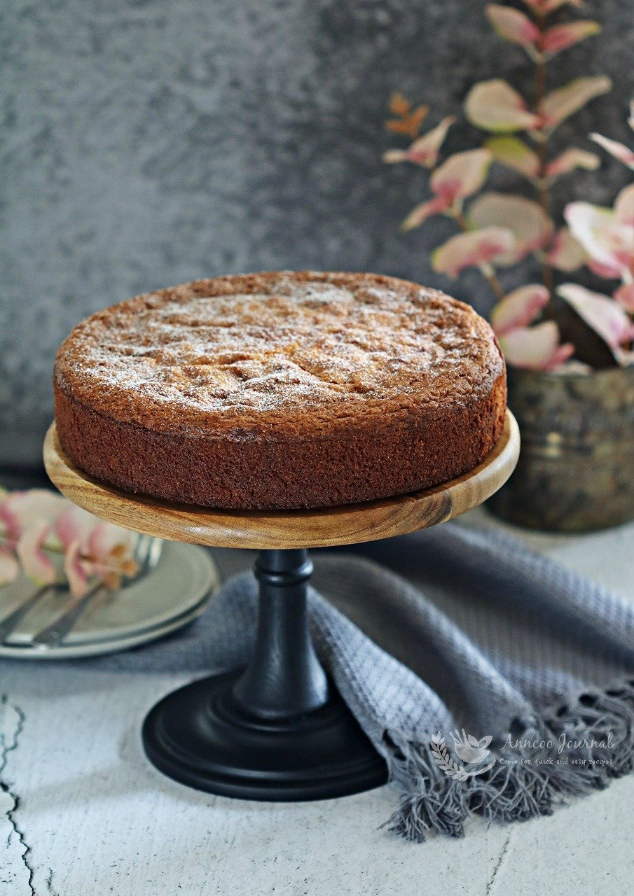 flourless white chocolate cake