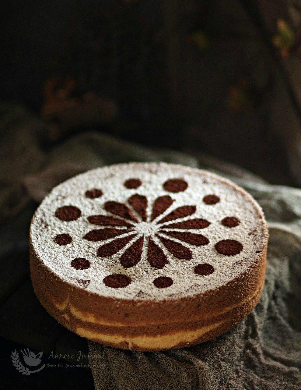 rice flour chiffon cake