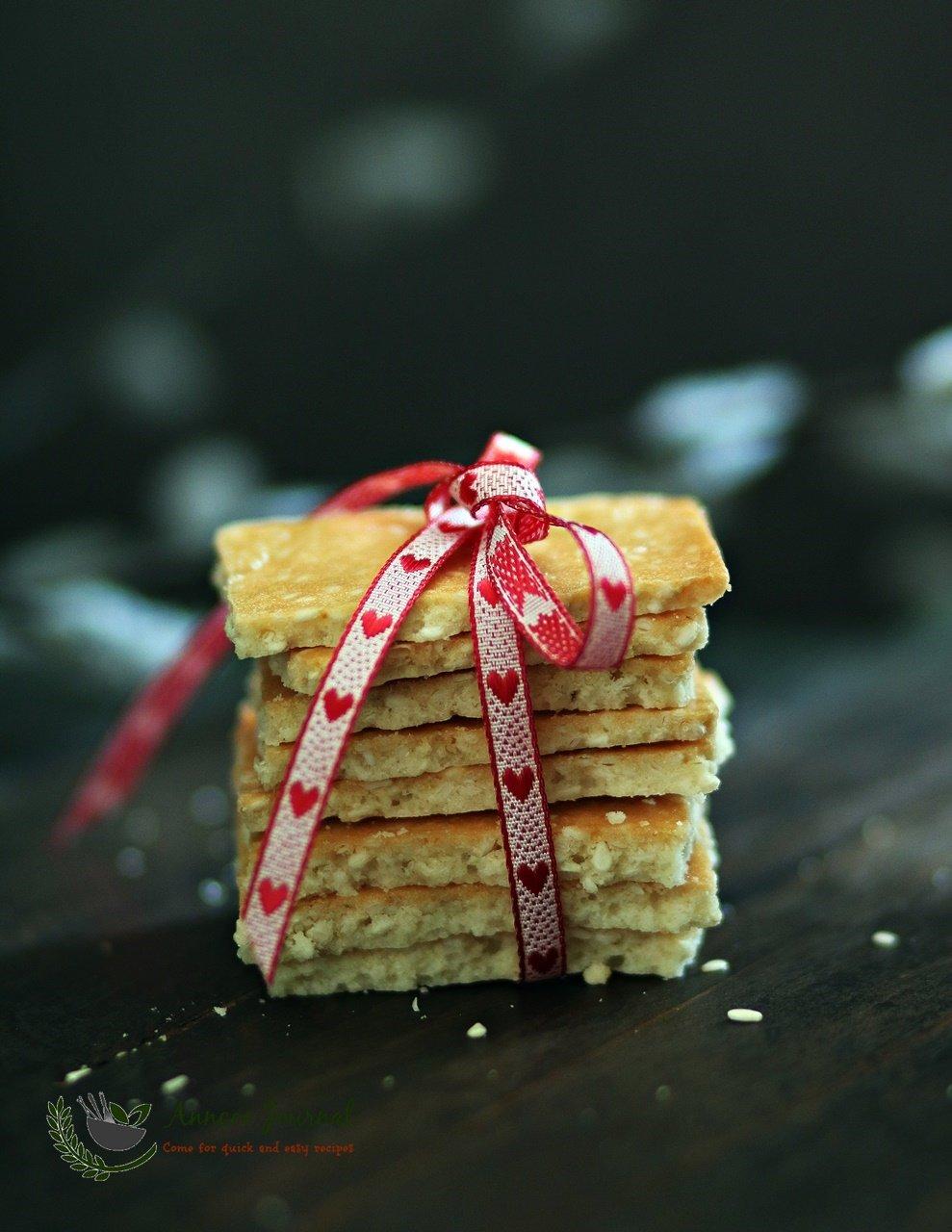 fragrant sesame biscuits