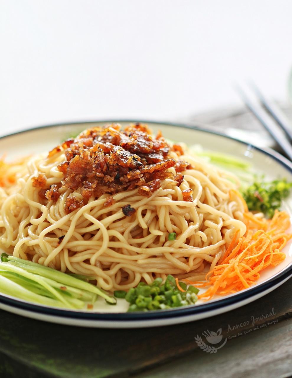 bak kwa instant noodle