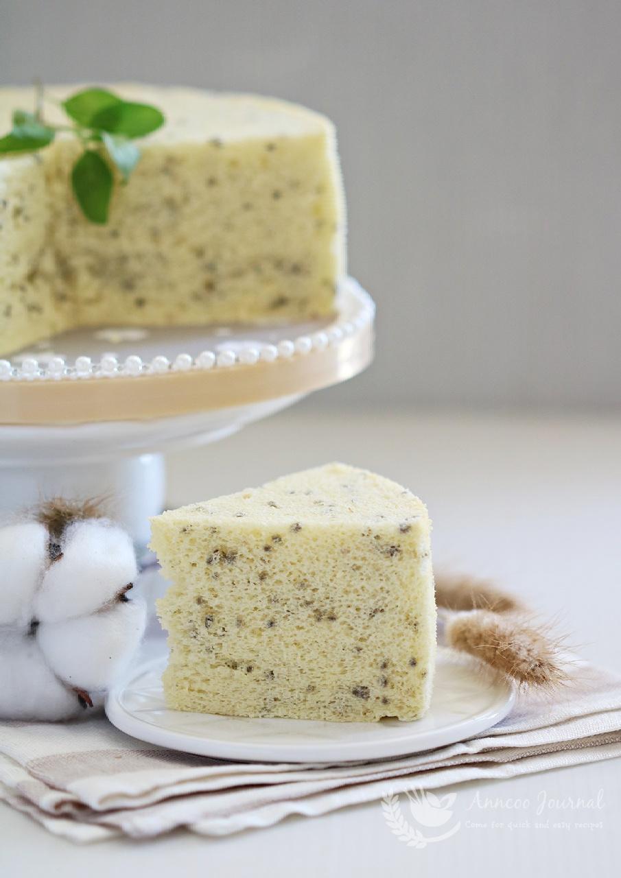 steamed chiffon cake