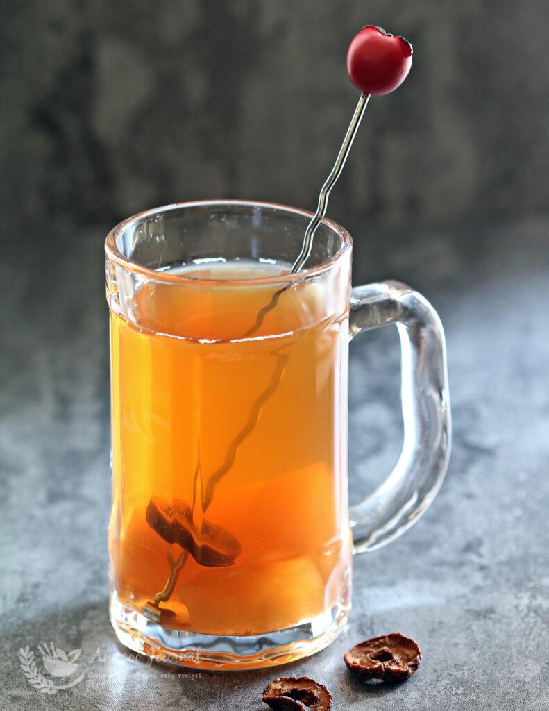 hawthorn apple tea